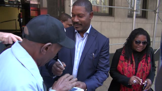 Dennis Haysbert at 'The Wendy Williams Show' studio in New York NY on 10/22/12