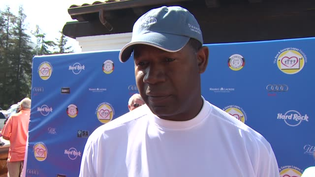 Dennis Haysbert on being a part of the event at the Third Annual George Lopez Celebrity Golf Classic 2010 Audi quattro Cup at Toluca Lake CA