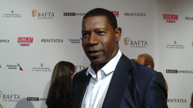 INTERVIEW Dennis Haysbert on being at the event and on his awards season favorites at the BAFTA Los Angeles Awards Season Tea Party at Four Seasons...