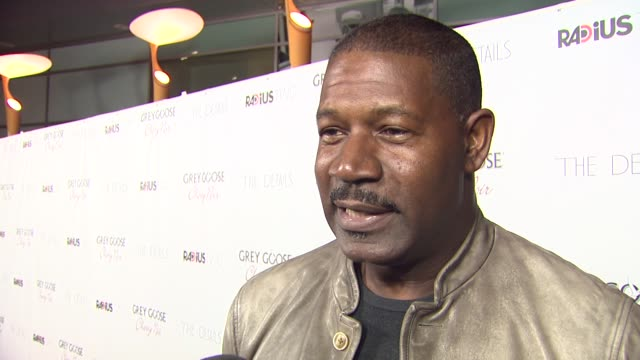 dennis haysbert on his character halloween and what attracted him to this role at grey goose vodka hosts 'the details' premiere in hollywood 10/29/12 - dennis haysbert stock videos & royalty-free footage