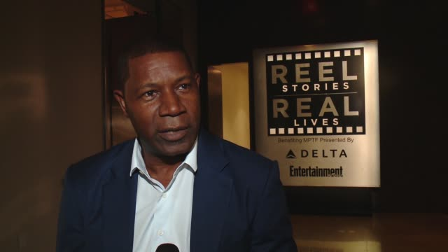 INTERVIEW Dennis Haysbert on the event at 5th Annual Reel Stories Real Lives Benefiting The Motion Picture Television Fund in Los Angeles CA