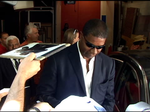 Dennis Haysbert outside the 'Live with Regis and Kelly' studio at the Celebrity Sightings in New York at New York NY