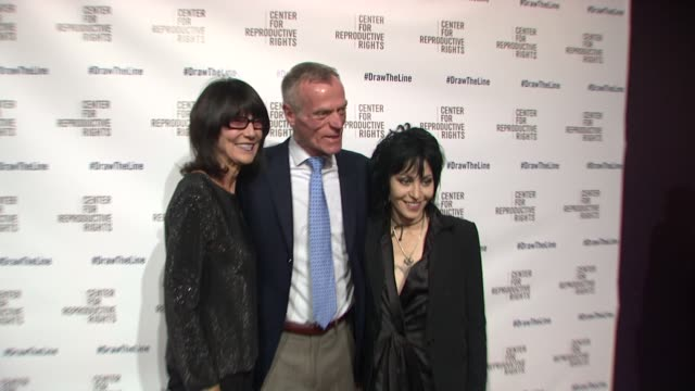 Dennis Hill Cooper Joan Jett and guest at Center for Reproductive Rights 2013 Gala Jazz at Lincoln Center on 10/29/13 in New York City