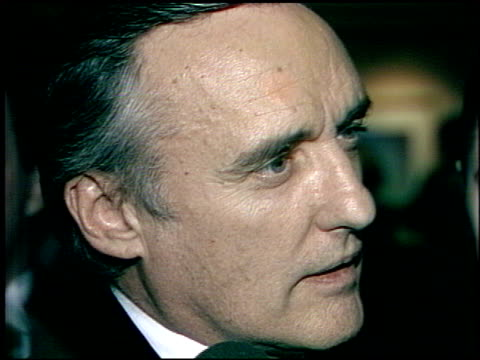 dennis hopper at the afi awards honoring gregory peck at the beverly hilton in beverly hills california on march 9 1989 - gregory peck stock videos and b-roll footage
