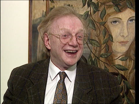 dennis potter cms potter intvwd sof danger when you writedanger when you act - potter stock videos & royalty-free footage