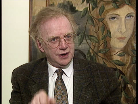 dennis potter cms potter intvwd sof you can hear a song associated with a memory - potter stock videos & royalty-free footage