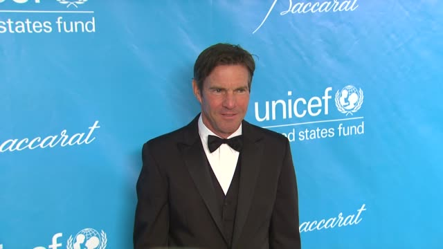 Dennis Quaid at 2011 UNICEF Ball Presented By Baccarat in Los Angeles CA
