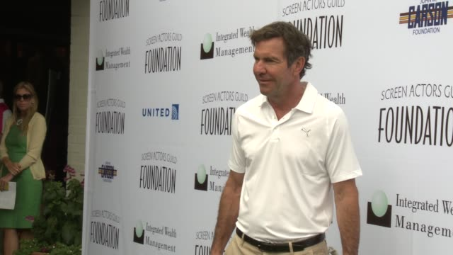 Dennis Quaid at Screen Actors Guild Foundation 4th Annual Los Angeles Golf Classic Dennis Quaid at Screen Actors Guild Foundation 4th at Lakeside...