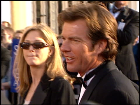 Dennis Quaid at the 1998 Screen Actors Guild SAG Awards at the Shrine Auditorium in Los Angeles California on March 8 1998