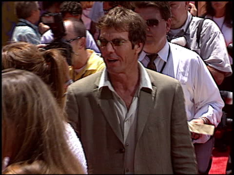 Dennis Quaid at the 'Around the World in 80 Days' Premiere at the El Capitan Theatre in Hollywood California on June 16 2004