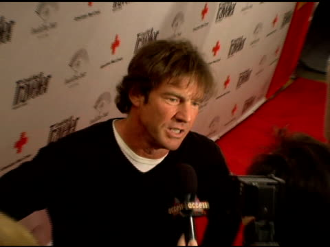 Dennis Quaid at the Cond Nast Traveler 2006 Annual Hot List Party at Buddha Bar in New York New York on April 18 2006