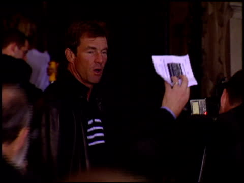 Dennis Quaid at the DVD Release of 'The Lion King' at the El Capitan Theatre in Hollywood California on October 3 2002