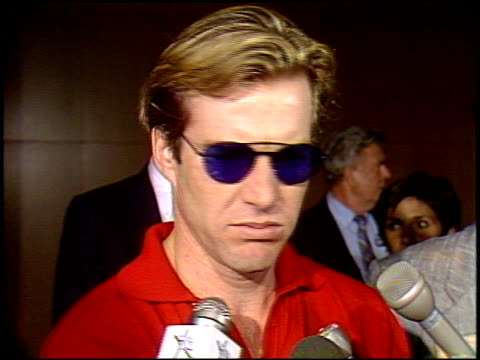 Dennis Quaid at the 'Great Balls of Fire' Premiere at DGA Building in Los Angeles California on June 29 1989