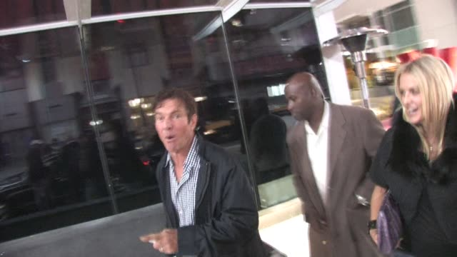 Dennis Quaid at W Hotel in Hollywood at the Celebrity Sightings in Los Angeles at Los Angeles CA