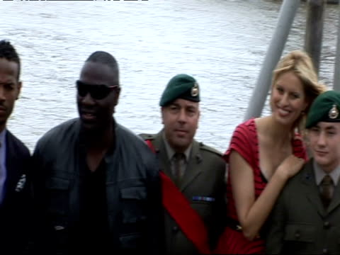 dennis quaid karolina kurkova stephen sommers channing tatum sienna miller rachel nichols marlon wayans and adewale akinnuoyeagbaje at the gi joe... - karolina kurkova stock videos and b-roll footage