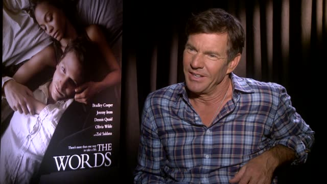 Dennis Quaid on his character INTERVIEW Dennis Quaid on his character at Four Seasons Hotel Los Angeles at Beverly Hills on August 18 2012 in Beverly...
