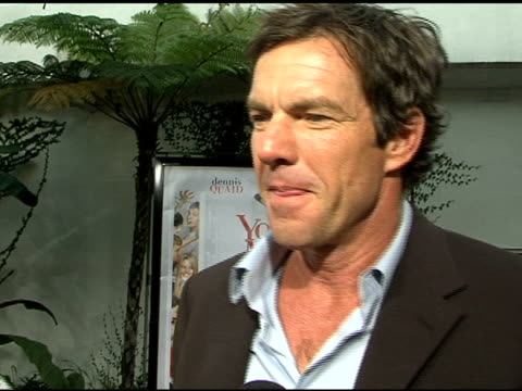 Dennis Quaid on his character what he enjoyed most about making the movie and upcoming projects at the 'Yours Mine and Ours' World Premiere at the...