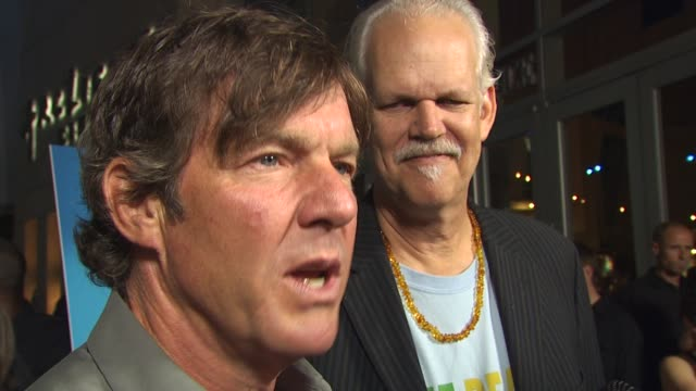 Dennis Quaid on why he supports this cause at the 'One Peace At A Time' Premiere at Hollywood CA