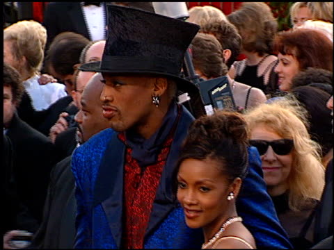 Dennis Rodman at the 1997 Academy Awards Arrivals at the Shrine Auditorium in Los Angeles California on March 24 1997