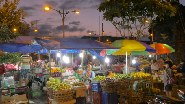 denpasar traditional market,bali,indonesia - bali stock videos & royalty-free footage