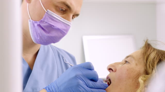 dental check-up - dental health stock videos & royalty-free footage