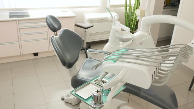 tandkliniken - tandläkare bildbanksvideor och videomaterial från bakom kulisserna
