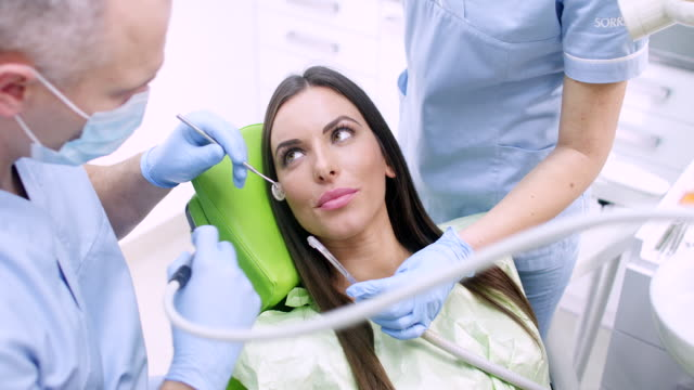 dental procedure - drill stock videos & royalty-free footage