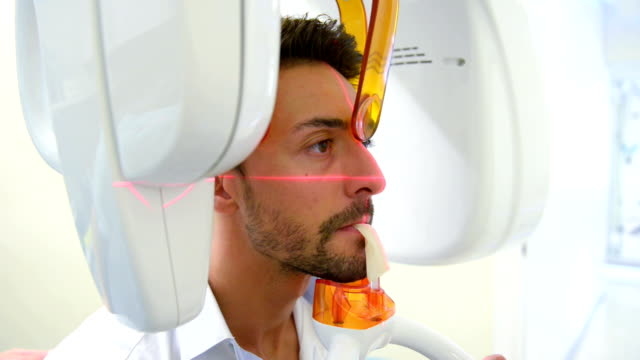 dental x-ray machine - scientific imaging technique stock videos and b-roll footage