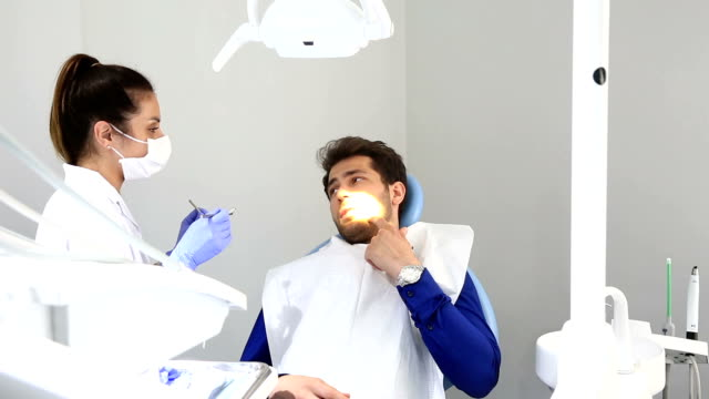 dentist at work - dental equipment stock videos and b-roll footage