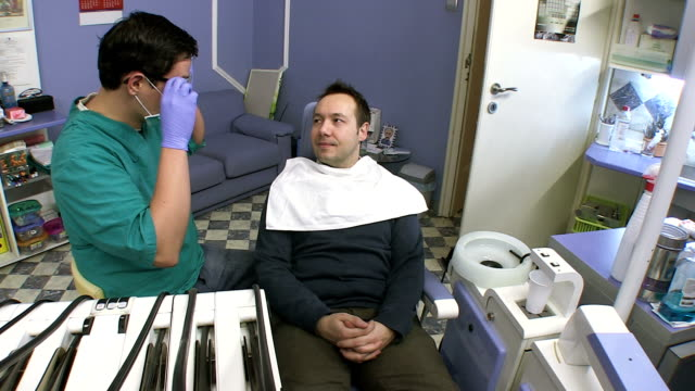 dentist consultation - tooth cap stock videos and b-roll footage