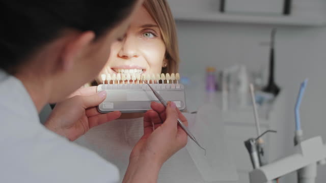 dentist footage - dentures stock videos and b-roll footage