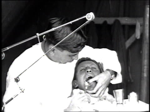 ms dentist working in a man's mouth / france - 1918 stock videos and b-roll footage
