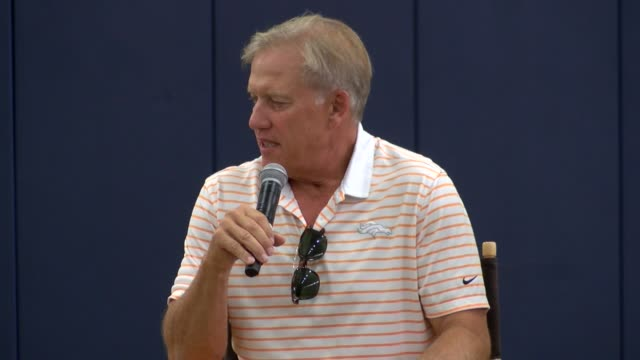 Denver Broncos President and General Manager John Elway talked about a wide range of subjects even calling news coverage of his contract negotiation...