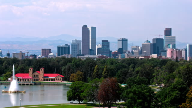Denver , Colorado  USA  Skyline