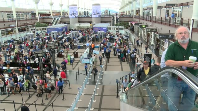 Denver International Airport terminal incurred a partial shutdown for suspicious package the police had to investigate but it was business as usual...