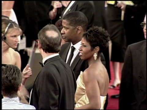 denzel washington at the 2000 academy awards at the shrine auditorium in los angeles california on march 26 2000 - 72nd annual academy awards stock videos and b-roll footage