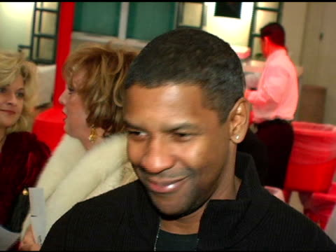 denzel washington at the debbie allen dance academy presentation of 'dreams' at freud playhouse in los angeles california on december 16 2004 - playhouse stock videos & royalty-free footage