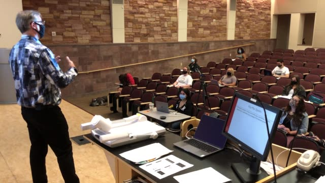department of criminal justice chairman and professor dr. joel lieberman teaches jury decision making, a criminal justice class at unlv, amid the... - technology stock videos & royalty-free footage
