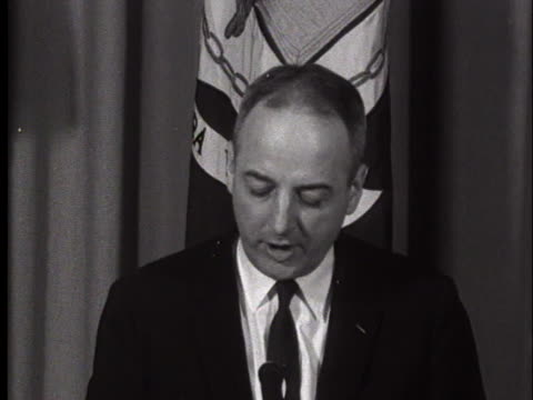 department of health, education, and welfare secretary arthur flemming criticizes prince edward county, virginia, in circumventing desegregation. - 1950 1959 stock videos & royalty-free footage