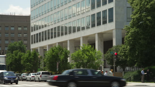 US Department of Transportation at Indiana Avenue and 7th Street in Washington DC. Shot in May 2012.