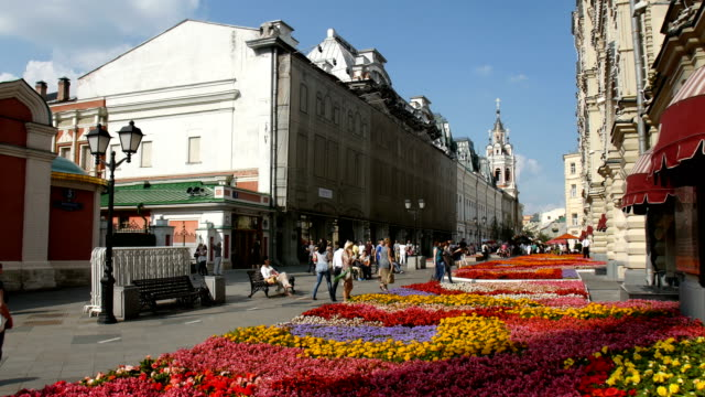 gum department store / moscow, russia - department store stock videos and b-roll footage