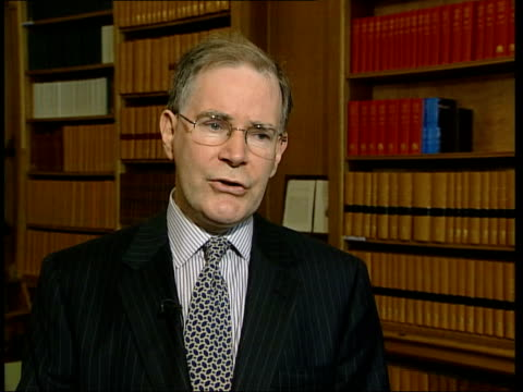 report refutes health risk england london professor brian spratt interviewed sot worst case estimate for soldier surviving in tank he will have... - uranium stock videos and b-roll footage