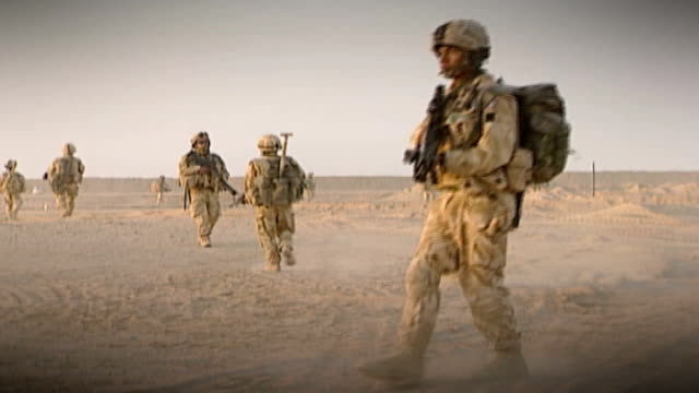 deportation threat to foreign and commonwealth soldiers to be lifted r25100609 / afghanistan kabul ext soldiers in british gurkha regiment taking... - military training stock videos and b-roll footage