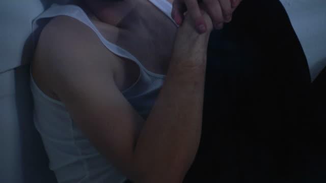 depressed & addicted man 1 - psychosis stock videos & royalty-free footage