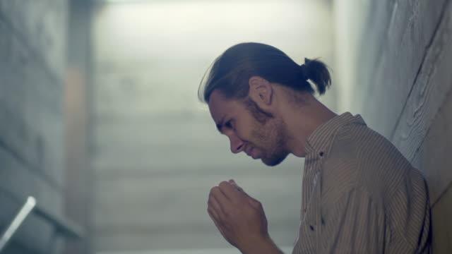 depression underground. - mental health stock videos & royalty-free footage
