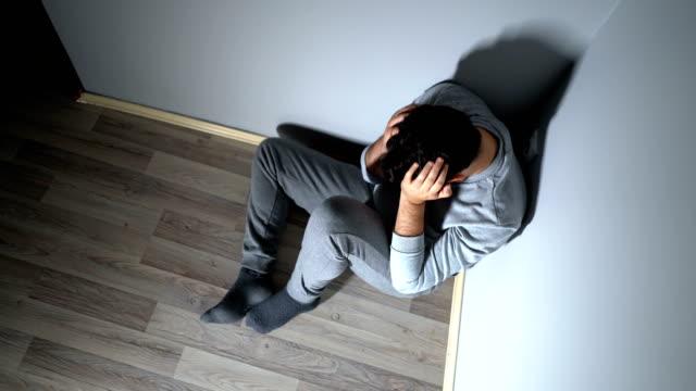 うつ病 - 憂鬱点の映像素材/bロール