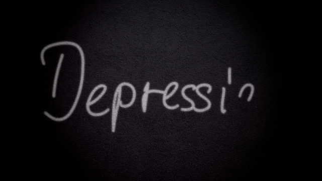depression - help single word stock videos and b-roll footage