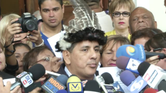 """of deputies arriving to the national assembly 2.- deputies talking 3.- sb of julio ygarza, amazon deputy: """"today, we are demanding for the... - politics and government stock videos & royalty-free footage"""