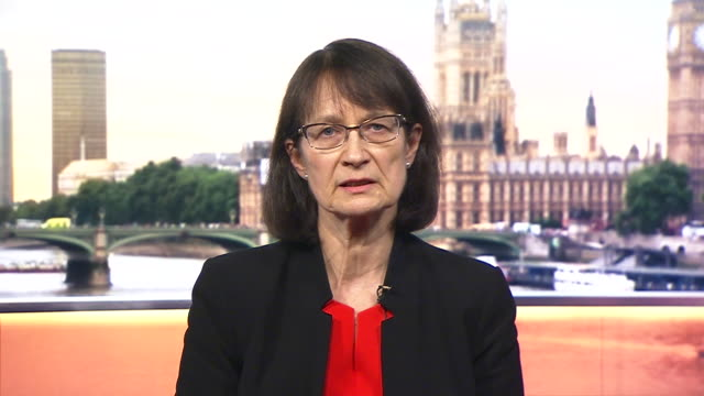 """deputy chief medical officer jenny harries saying the chances of the uk missing a coronavirus epidemic are """"slim to nil"""" - chance stock videos & royalty-free footage"""
