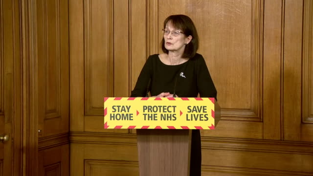 deputy chief medical officer jenny harries saying the government have been able to supply ppe to frontline workers despite an unprecedented pull on... - pulling stock videos & royalty-free footage